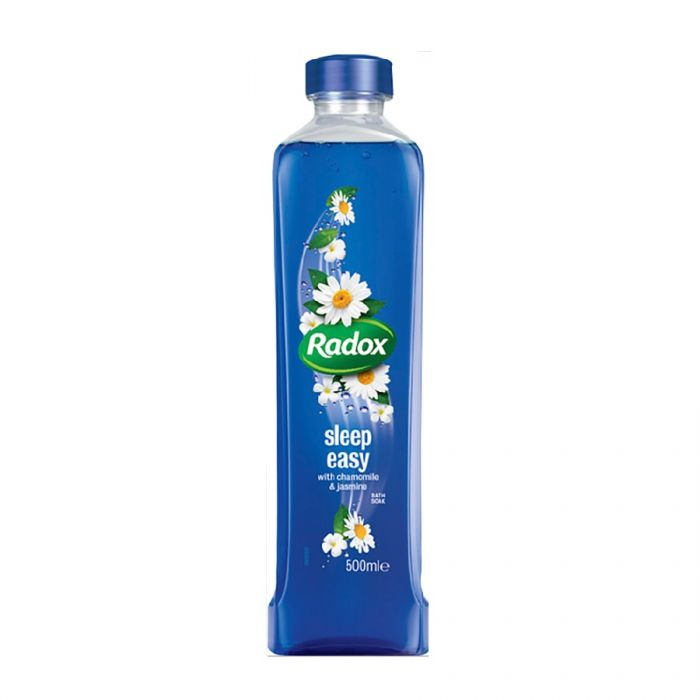 Radox Sleep Easy Bath Soak 500Ml <br> Pack size: 6 x 500ml <br> Product code: 316230
