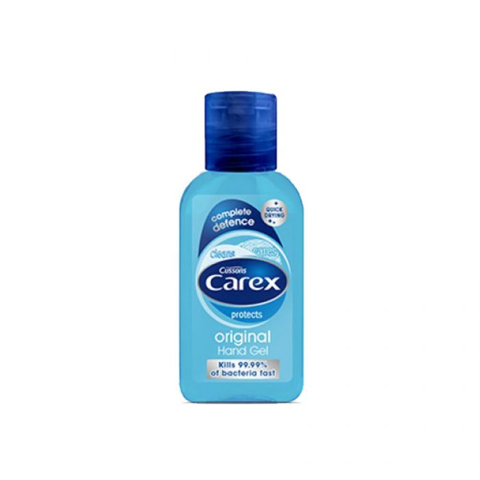 Carex Hand Gel Original 50Ml <br> Pack size: 12 x 50ml <br> Product code: 332343