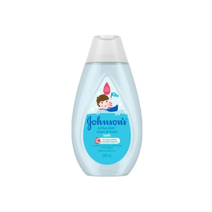 Johnson'S Baby Bath 200Ml  <br> Pack size: 6 x 200ml <br> Product code: 401111