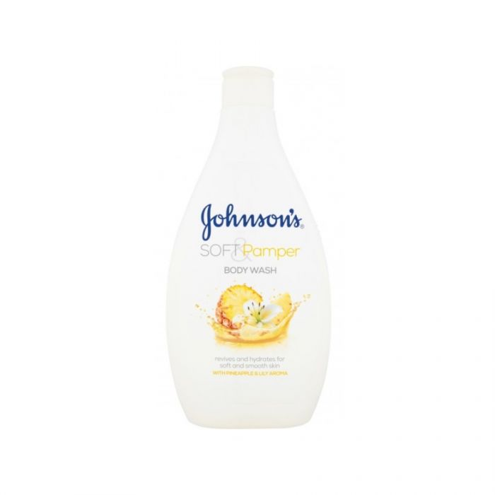 Johnson'S Soft & Pamper Body Wash 400Ml <br> Pack size: 6 x 400ml <br> Product code: 403104