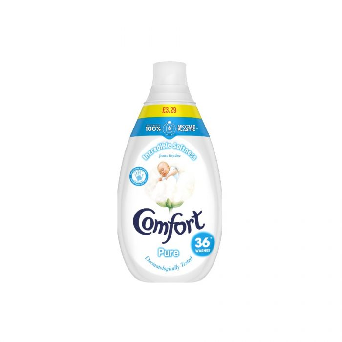 Comfort Intense Pure 540Ml 36 Washes (Pm £3.29) <br> Pack size: 6 x 540ml <br> Product code: 443983