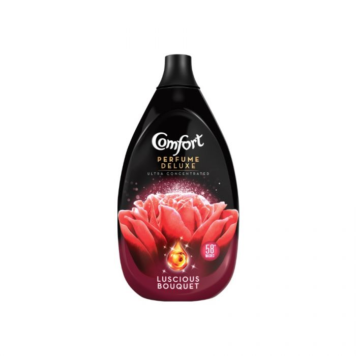 Comfort Perfume Deluxe Fabric Conditioner Luscious Bouquet 870Ml <br> Pack size: 6 x 870ml <br> Product code: 444003
