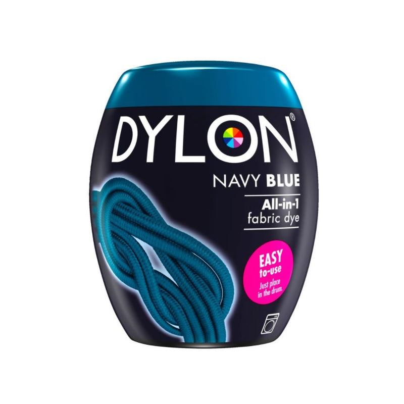 Dylon Fabric Dye Pods No 8 Navy Blue 350G <br> Pack Size: 3 x 350g <br> Product code: 445201