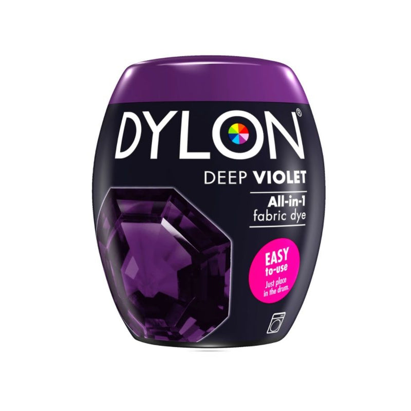 Dylon Fabric Dye Pods No 30 Deep Violet 350G <br> Pack Size: 3 x 350g <br> Product code: 445205