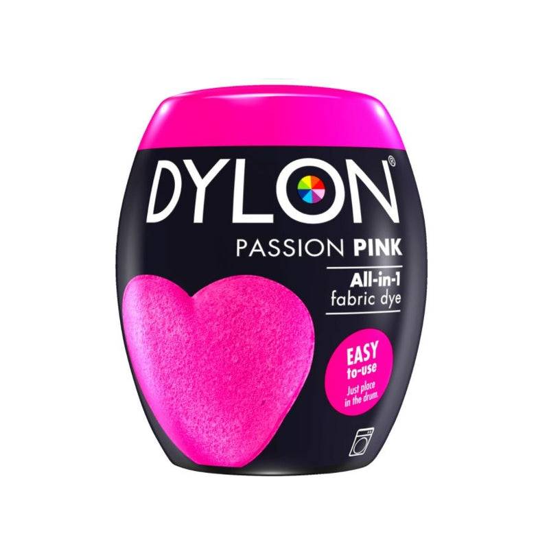 Dylon Fabric Dye Pods No 29 Passion Pink 350G <br> Pack Size: 3 x 350g <br> Product code: 445209