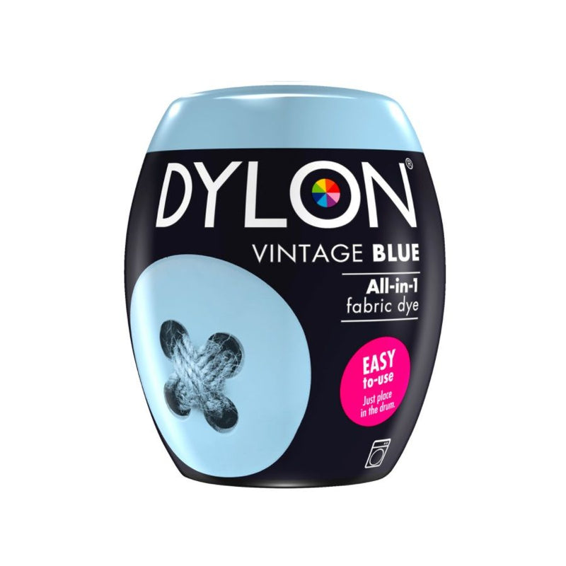 Dylon Fabric Dye Pods No 6 Vintage Blue 350G <br> Pack Size: 3 x 350g <br> Product code: 445211