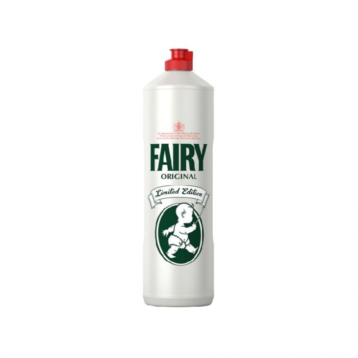 Fairy Original Limited Edition Heritage Washing Up Liquid 1Ltr <br> Pack size: 3 x 1ltr <br> Product code: 472042
