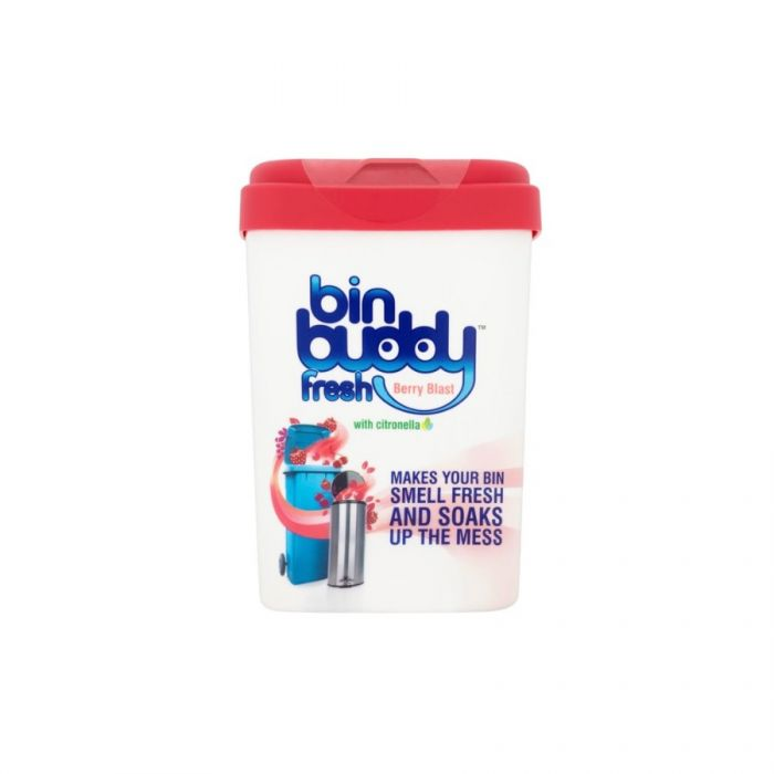 Bin Buddy Fresh Berry Blast 450G <br> Pack size: 6 x 450g <br> Product code: 503554