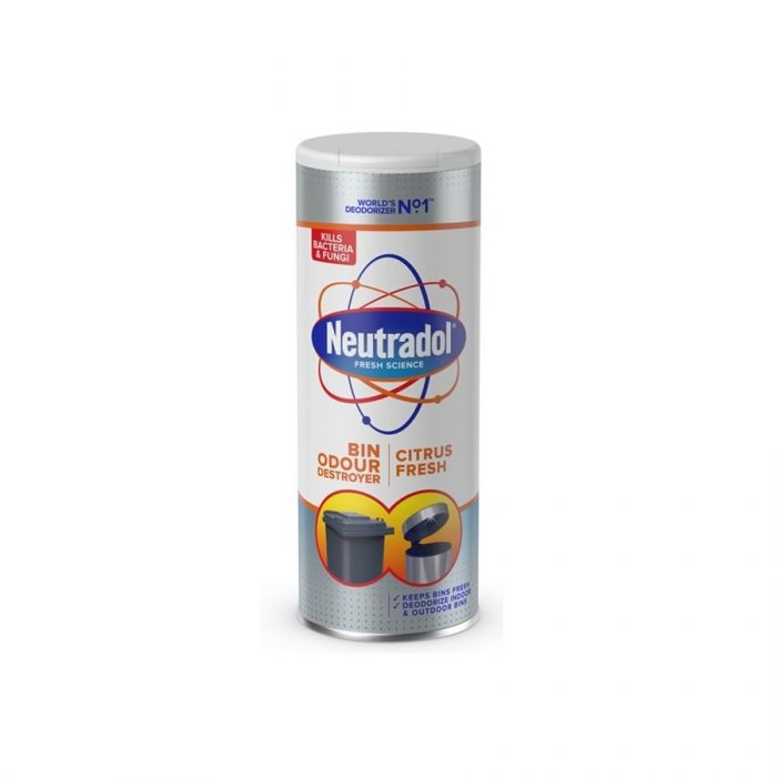 Neutradol Dustbin Odour Destroyer Powder 350G <br> Pack size: 12 x 350g <br> Product code: 503556