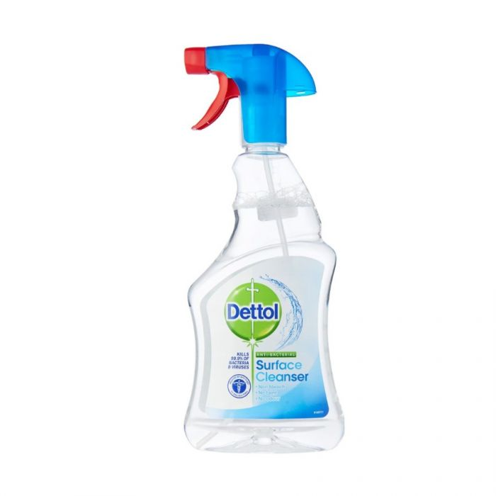 Dettol Surface Cleanser Trigger Spray 500Ml Pm £1.69 <br> Pack size: 6 x 500ml <br> Product code: 553760