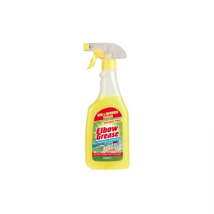 Elbow Grease All Purpose Degreaser 500Ml <br> Pack size: 8 x 500ml <br> Product code: 554372