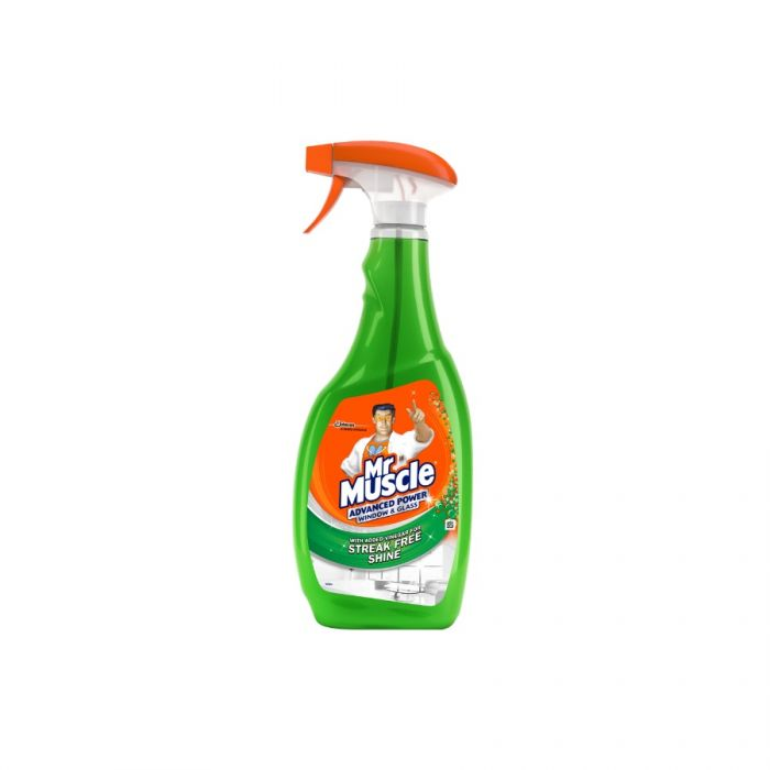 Mr Muscle Advanced Power Window & Glass Cleaner 750Ml <br> Pack size: 6 x 750ml <br> Product code: 557013