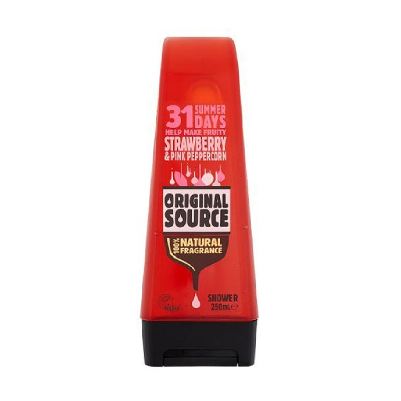 Original Source Shower Gel 250Ml Strawberry <br> Pack size: 6 x 250ml <br> Product code: 316111