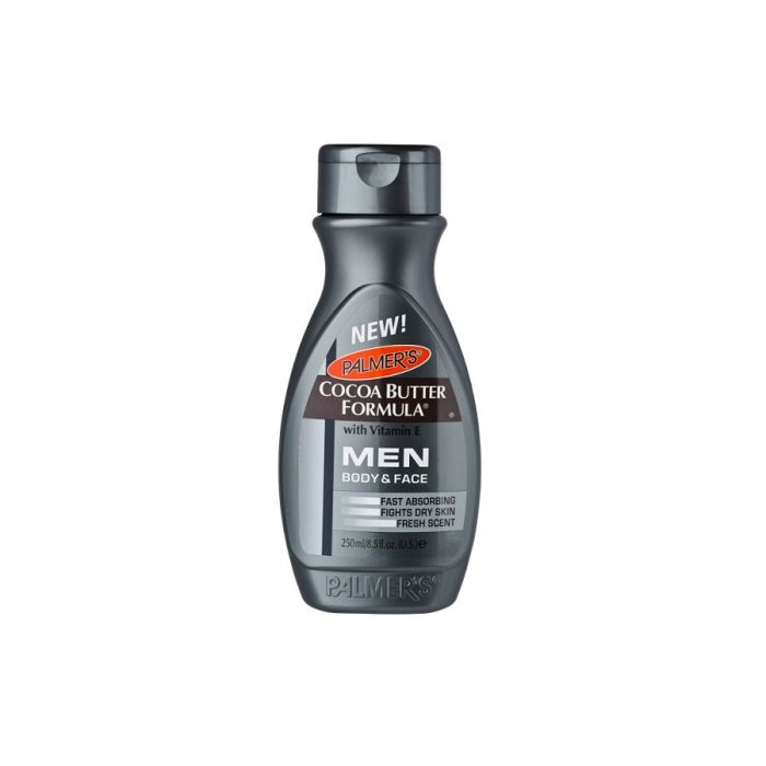 Palmers Cocoa Butter Men Body & Face Lotion 250Ml <br> Pack size: 6 x 250ml <br> Product code: 225514