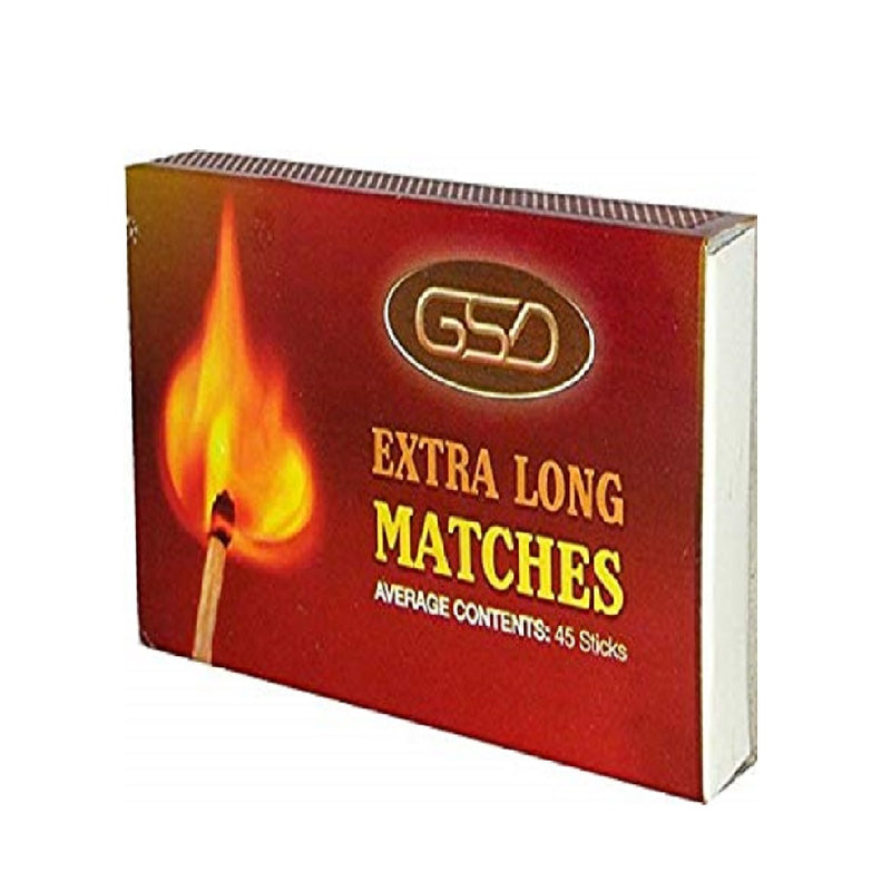 Household Matches Extra Long <br> Pack size: 12 x 1 <br> Product code: 146109