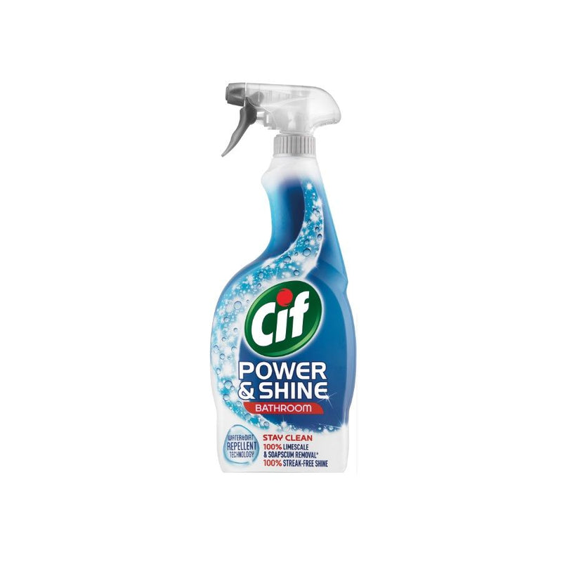 Cif Power & Shine Bathroom Spray 700ml <br> Pack size: 6 x 700ml <br> Product code: 555380