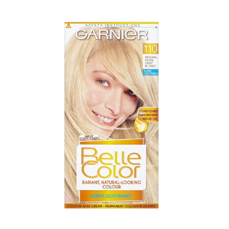 Garnier Belle Colour Extra Light Natural Blonde (110) <br> Pack size: 3 x 1 <br> Product code: 200901