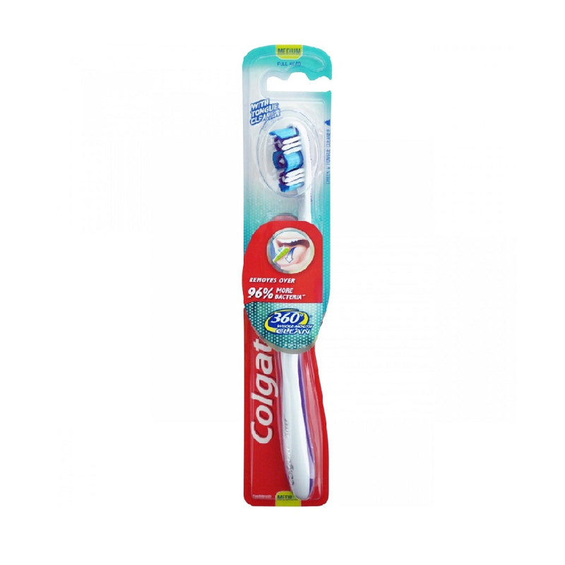 Colgate Toothbrush 360º Medium <br> Pack size: 12 x 1 <br> Product code: 300919