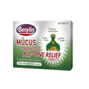Benylin Mucus All In One Tabs 16'S <br> Pack size: 6 x 16s <br> Product code: 121215