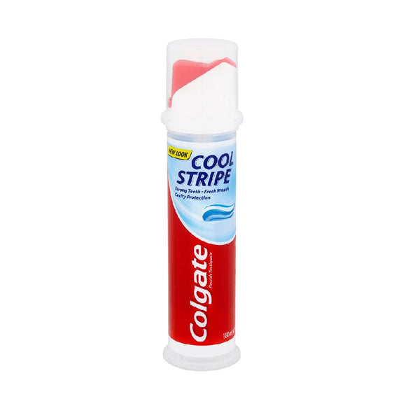 Colgate 100Ml Pump Cool Stripe <br> Pack size: 6 x 100ml <br> Product code: 282742