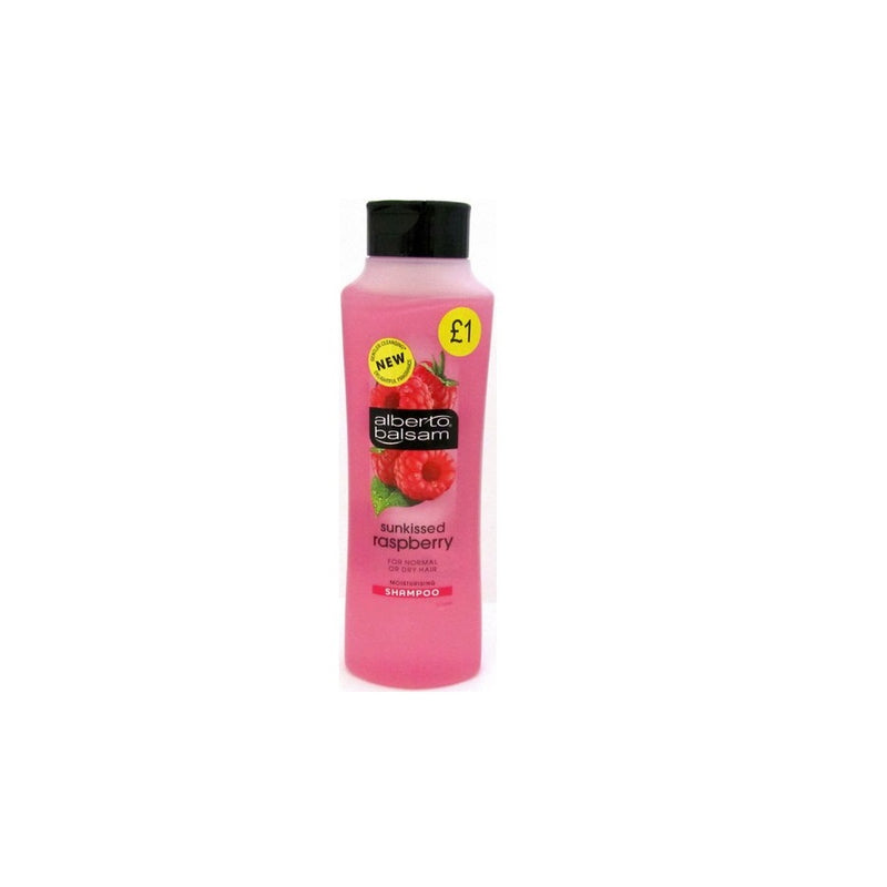 Alberto Balsam Shampoo Raspberry 350ml (PM £1) <br> Pack size: 6 x 350ml <br> Product code: 171051