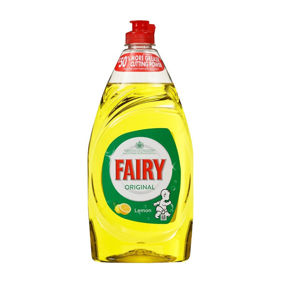 Fairy Washing Up Liquid Lemon 780ml <br> Pack size: 8 x 780ml <br> Product code: 472037