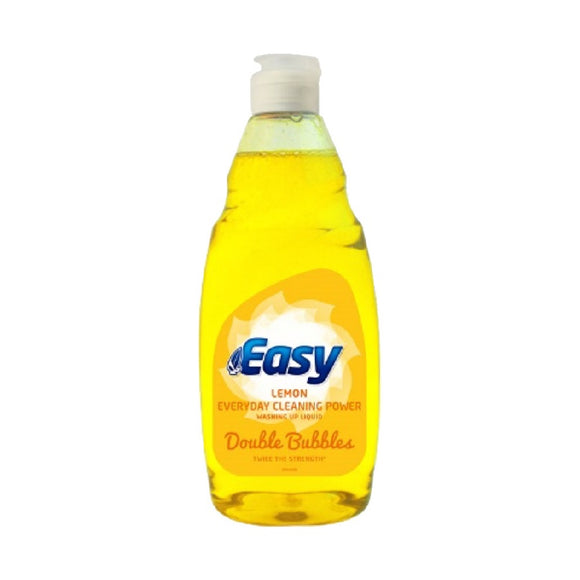 Easy Washing Up Liquid Lemon 500ml <br> Pack size: 8 x 500ml <br> Product code: 470097