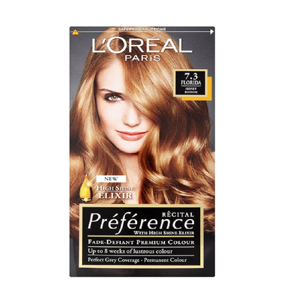 L'Oreal Recital Florida 7.3 <br> Pack size: 3 x 1 <br> Product code: 204700