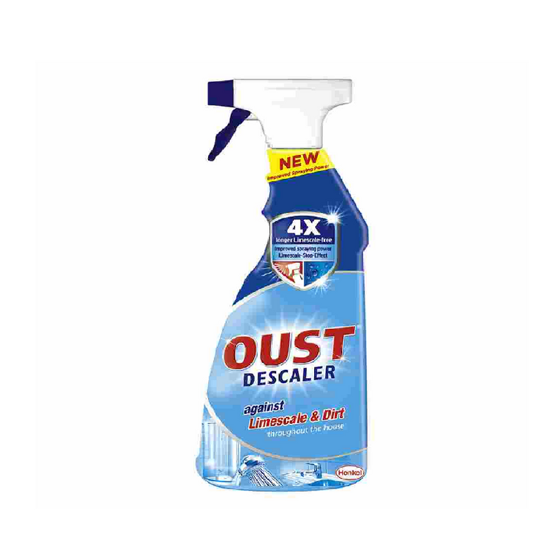 Oust Limescale & Dirt Spray 750Ml <br> Pack size: 8 x 750ml <br> Product code: 558254