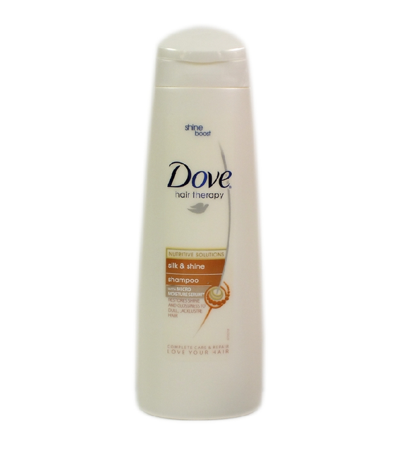 Dove Shampoo 250Ml Silk & Shine <br> Pack size: 6 x 250ml <br> Product code: 172524