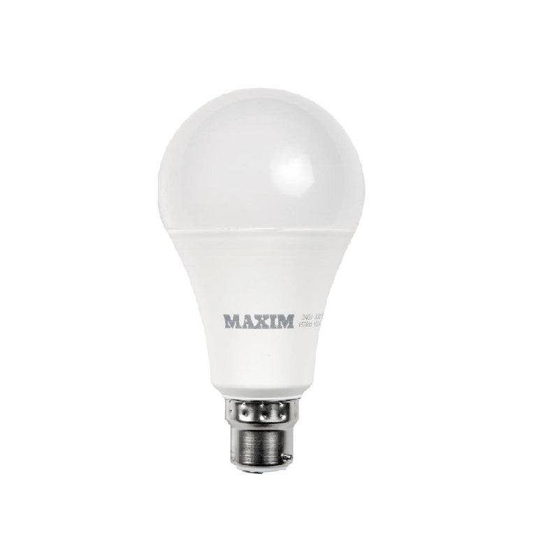 Maxim 10W=60W Led Gls Bc Pearl <br> Pack size: 10 x 1 <br> Product code: 533021