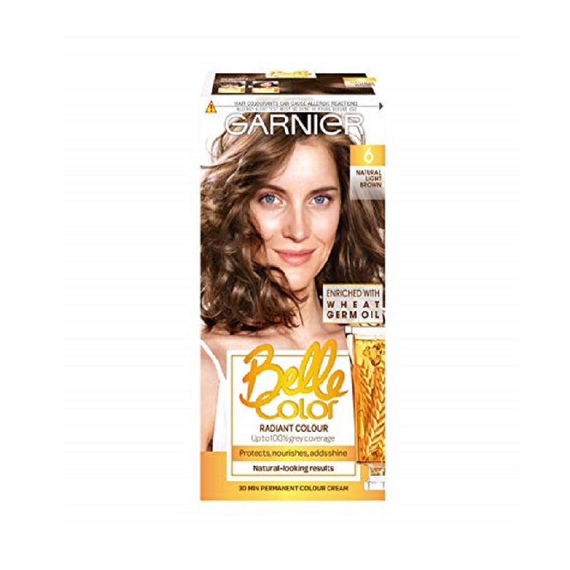 Garnier Belle Colour Light Brown (6) <br> Pack size: 3 x 1 <br> Product code: 200630