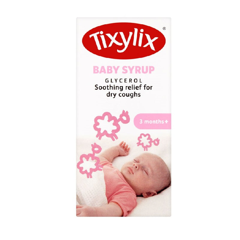 Tixylix Cough Syrup 100Ml Baby <br> Pack size: 6 x 100ml <br> Product code: 196534