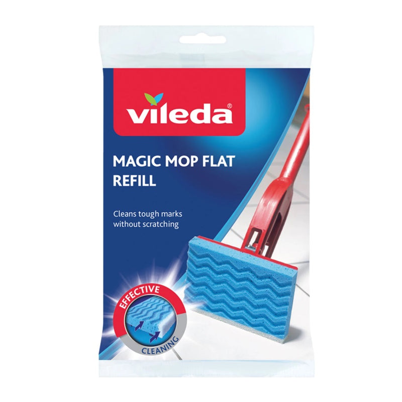 Vileda Magic Mop Flat Refill <br> Pack size: 1 x 1 <br> Product code: 544361