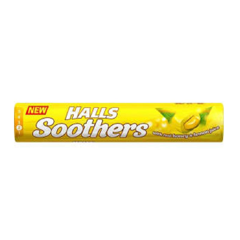 Halls Soothers - Honey & Lemon <br> Pack size: 20 x 1 <br> Product code: 193052