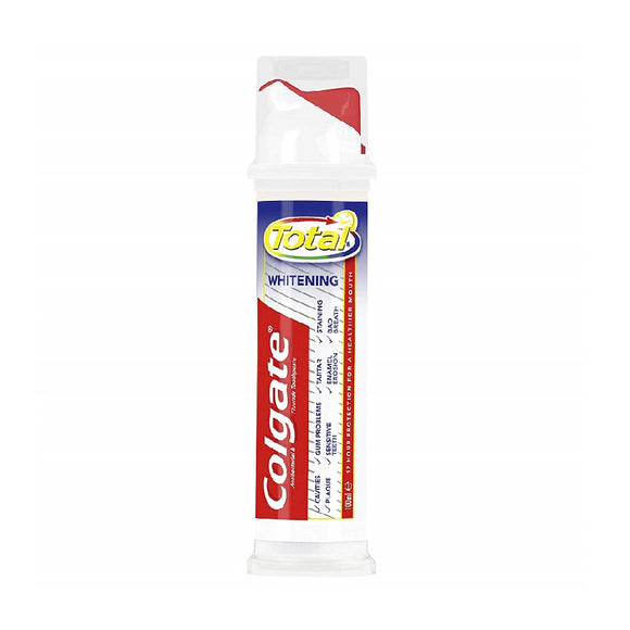 Colgate 100Ml Pump Total Original <br> Pack size: 6 x 100ml <br> Product code: 282810