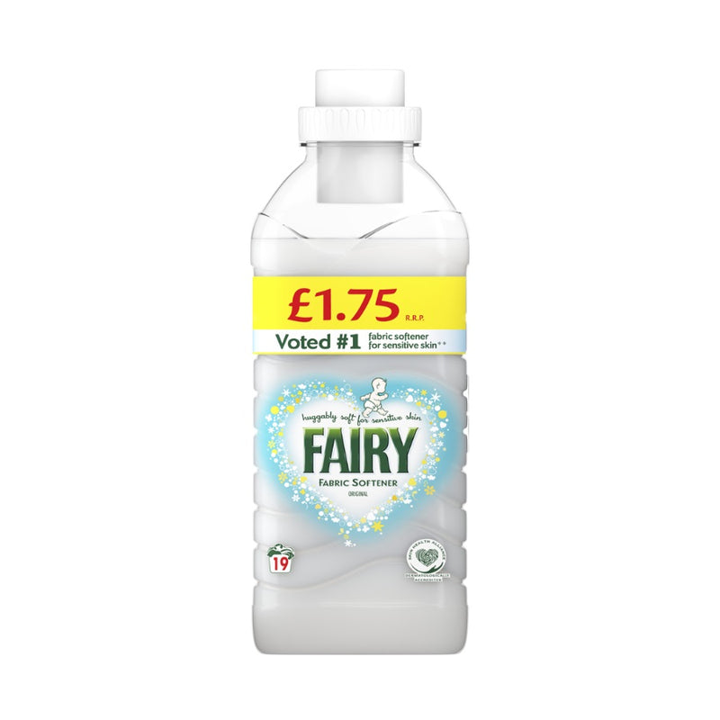 Fairy Fabric Softener 665ml (PM £1.75) <br> Pack size: 8 x 665ml <br> Product code: 445901