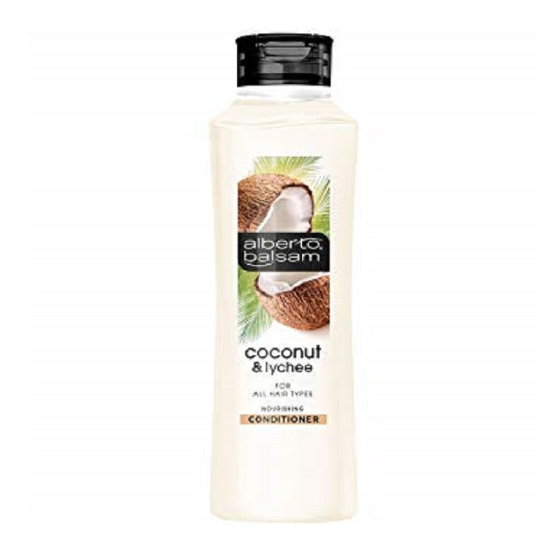 Alberto Balsam Conditioner 350M Coconut and Lychee <br> Pack size: 6 x 350ml <br> Product code: 180545
