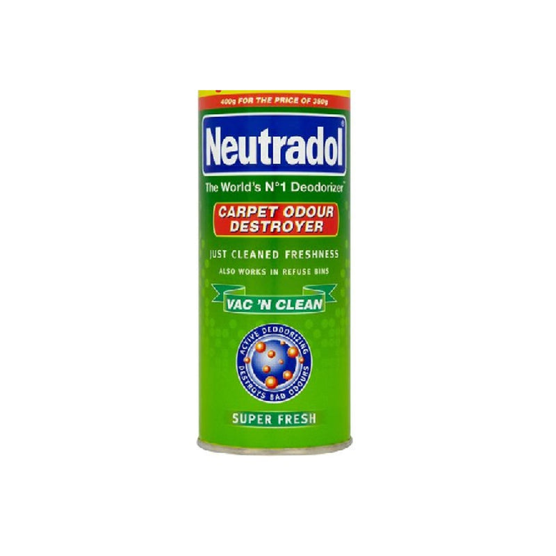 Neutradol Carpet 350G Fresh <br> Pack size: 12 x 350g <br> Product code: 546272