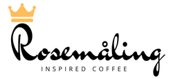 Rosemaling Coffee Logo