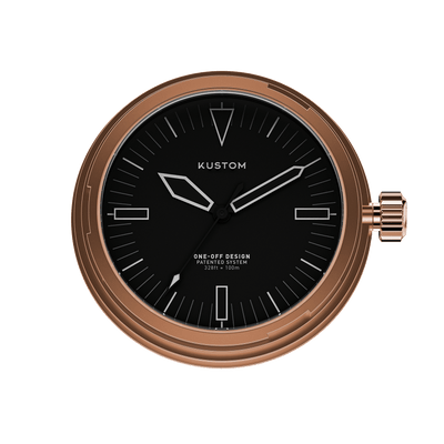 Rose Gold / Black / A