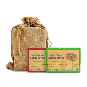 Brain Matcha + Cocoa 25%OFF 4600→3450円 <限定50組> - Fuji Organics