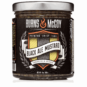 Burns & McCoy Black Ale Mustard
