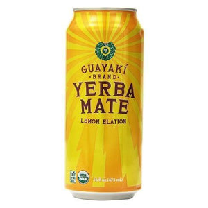 Guayaki Yerba Mate Lemon Elation 16 Oz