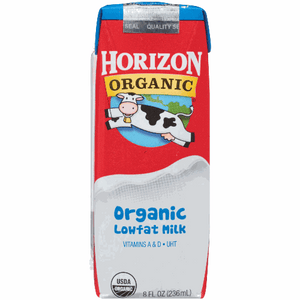 Horizon Organic Low-fat Milk 8 Oz