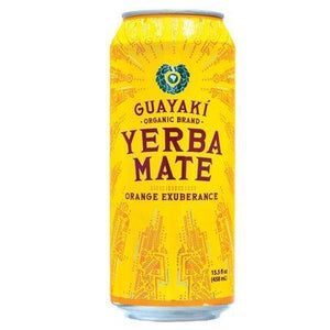 Guayaki Yerba Mate Orange Exuberance 15.5 OZ