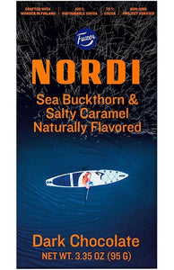 Nordi Sea Buckthorn & Salty Caramel Choc Bar