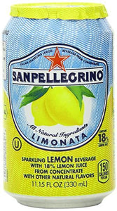 San Pellegrino Sparkling Lemon 330Ml