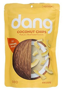Dang Coconut Chips Caramel 3.17 Oz