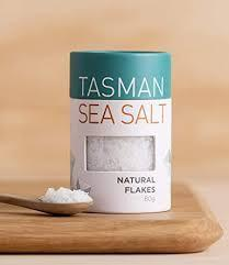 Tasman Sea Salt Natural Flakes 80g (2.82oz Canister)